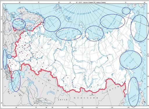 Континентальный шельф Российской Федерации