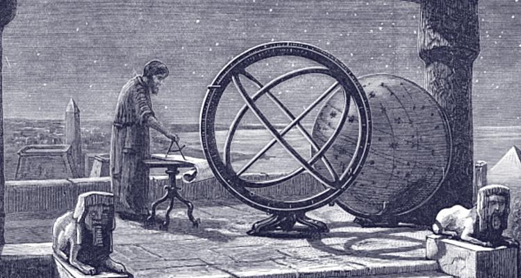 Меридиан - изобретение Эратосфена