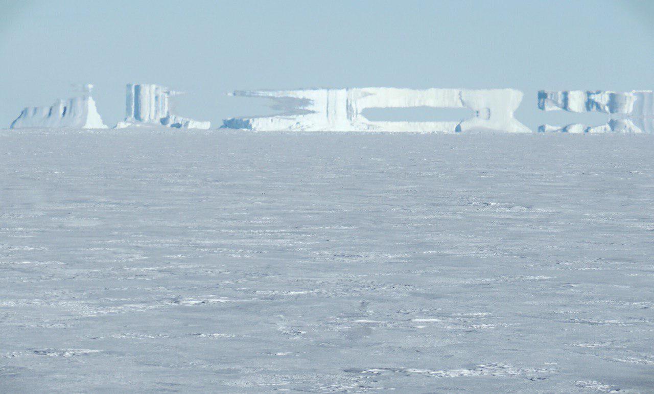 Мираж в Арктике