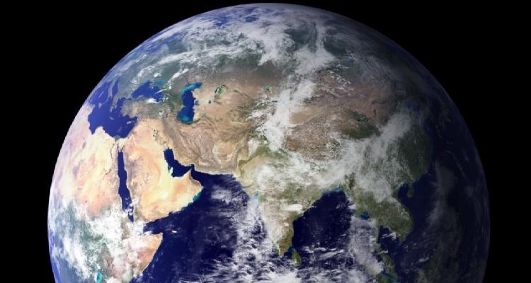 Евразия из космоса