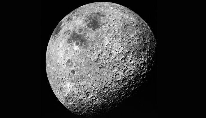 Луна - снимок с китайского спутника Чанъэ-4