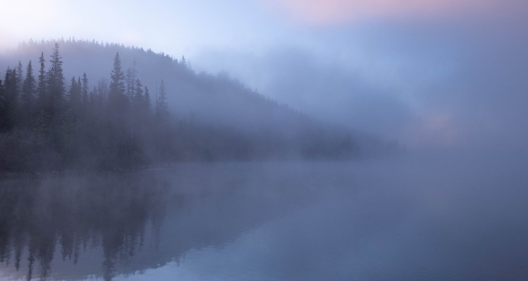 Места образования тумана