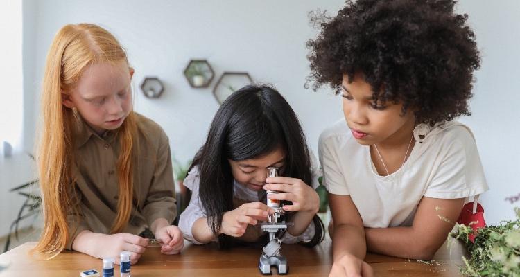 От изобретения первого микроскопа до наших дней