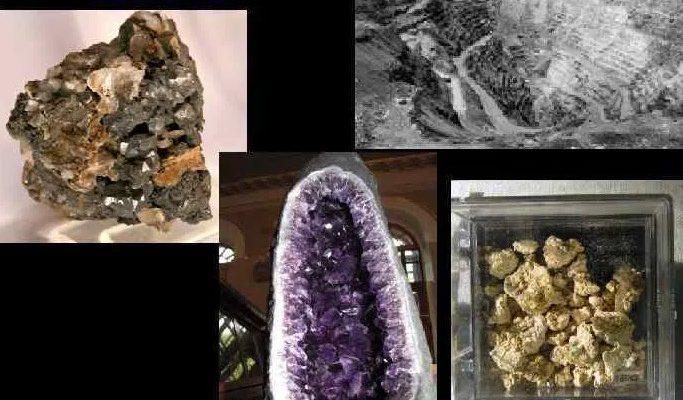 Полезные ископаемые Южной Америки