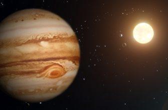 Самая большая планета Солнечной Система