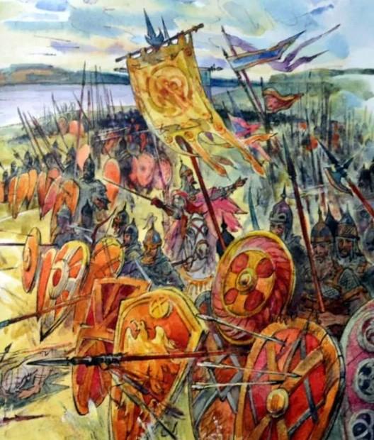 Битва в слове о полку Игореве